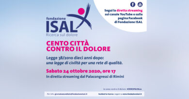 I link alla diretta streaming dell'evento speciale ISAL per Cento città